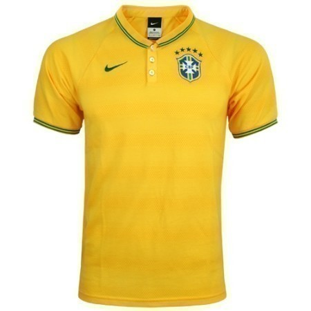 NIKE BRASIL LEAGUE AUTHENTIC POLO 2014 Thumbnail