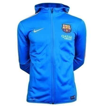 NIKE  BARCELONA GRAPHIC KNIT FULL ZIP HOODIE Thumbnail