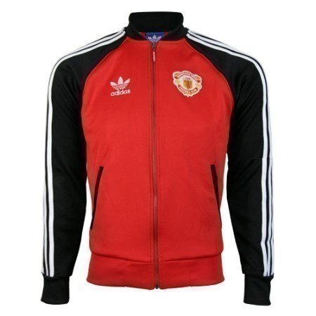 adidas MANCHESTER UNITED SUPERSTAR TRACK TOP Thumbnail