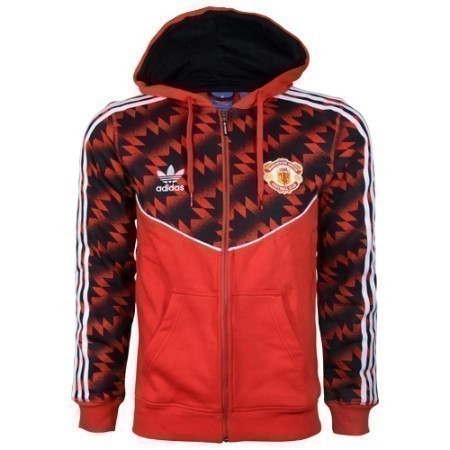 adidas MANCHESTER UNITED FULL ZIP HOODIE Thumbnail