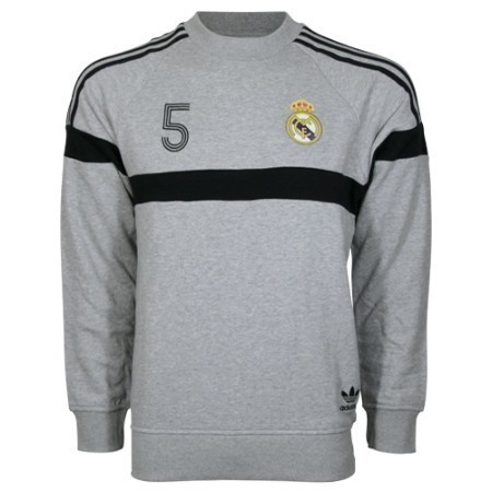 adidas REAL MADRID 3-S CREW SWEATSHIRT Thumbnail