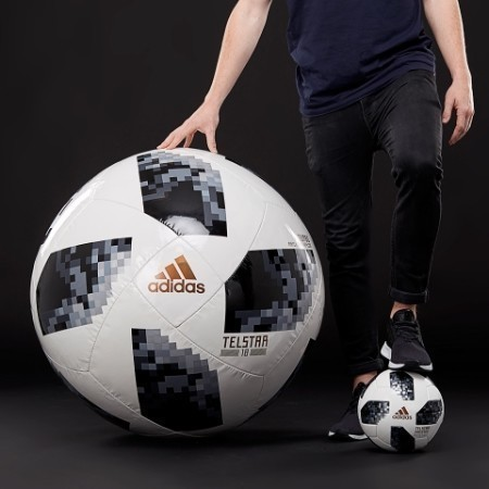 adidas TELSTAR 18 WORLD CUP JUMBO BALL Thumbnail