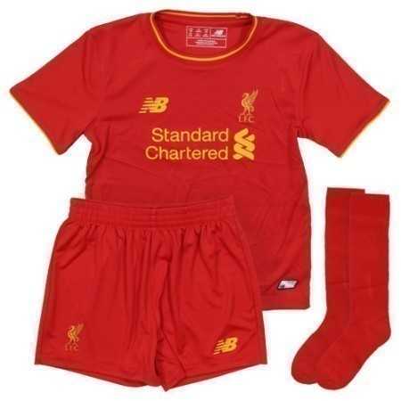 NEW BALANCE LIVERPOOL HOME MINI KIT 16/17 Thumbnail
