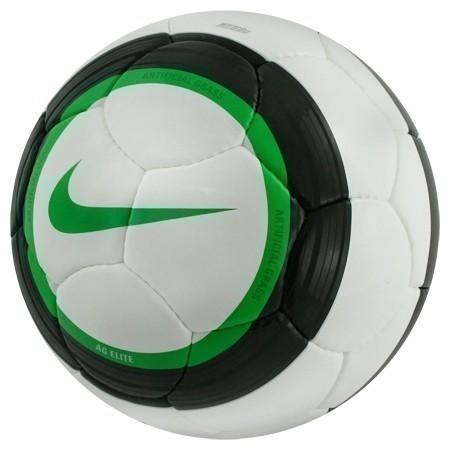 Nike soccer balls on grass