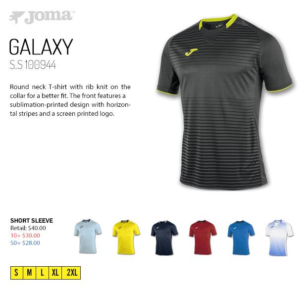 d40b5df1fb4 Galaxy Jersey Starting at $28.00