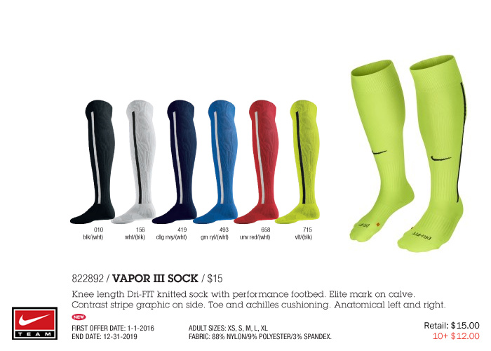 f8b367e456a ... soccer socks · nike clic iii sock · from 9 00 nike vapor iii sock ...