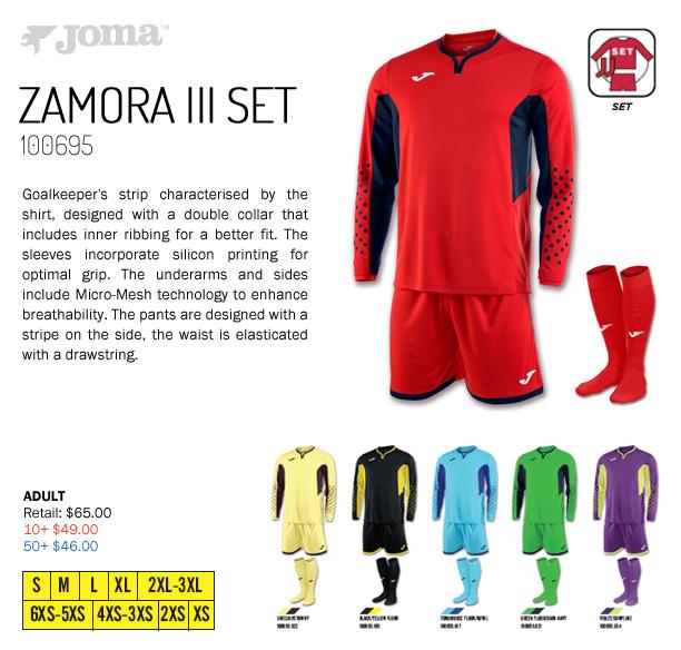 62e5dafc59c Zamora III GK Set Starting at  46.00
