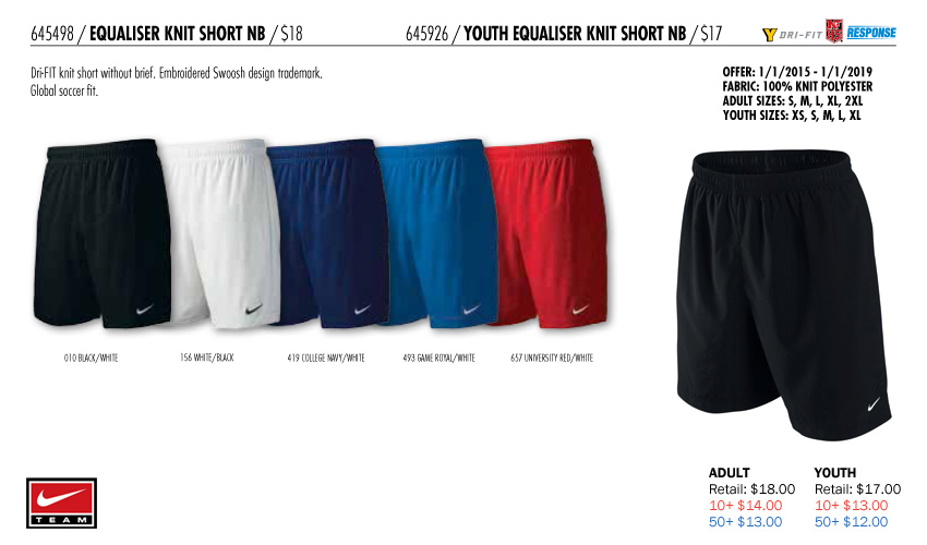 2825609cf Nike 2015 Men s Soccer Uniforms