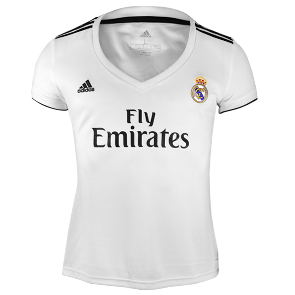 adidas REAL MADRID WOMEN S HOME JERSEY 18 19 1f3172748