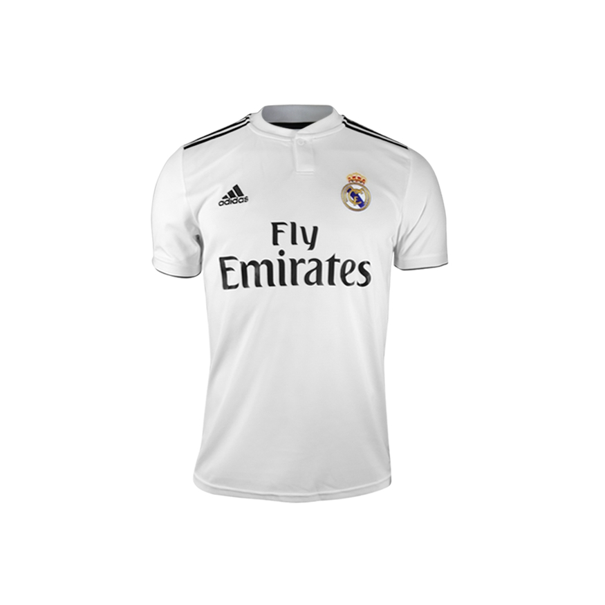8ae5cb9d8 adidas REAL MADRID HOME JERSEY 18 19