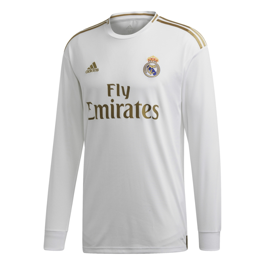 new concept b8c6b 28a5d adidas REAL MADRID LS HOME JERSEY 19/20