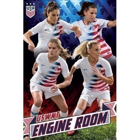 FIFA WWC 2019 USWNT ENGINE ROOM POSTER Thumbnail