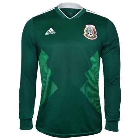adidas MEXICO HOME LS JERSEY 2018 Thumbnail