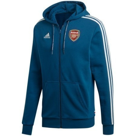 adidas ARSENAL FULL ZIP HOODIE JACKET Thumbnail