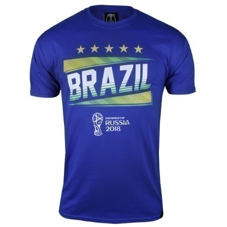 BRAZIL 2018 FIFA WORLD CUP TEE Thumbnail