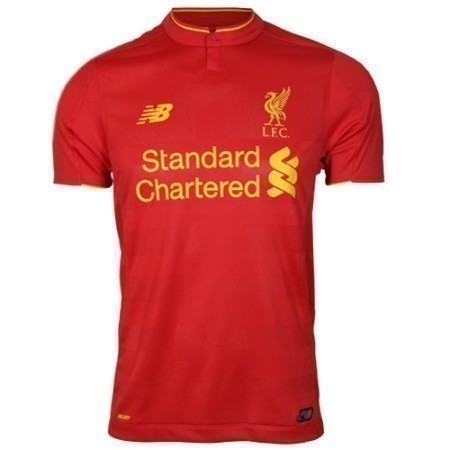NEW BALANCE LIVERPOOL YOUTH HOME JERSEY 16/17 Thumbnail