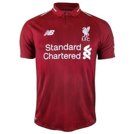 NEW BALANCE LIVERPOOL HOME JERSEY 18/19 Thumbnail