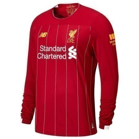 NEW BALANCE LIVERPOOL LS HOME JERSEY 20/21 Thumbnail