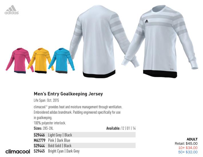 bdd0110794c adidas 2015 Men's & Youth Soccer Uniforms | Soccer Locker